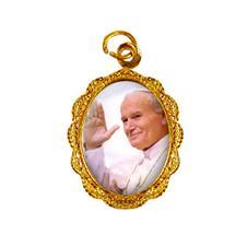 Medalha de Alumínio - Papa João Paulo II