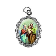 Medalha de Alumínio - Sagrada Família Níquel