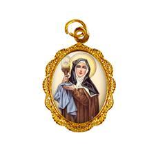 Medalha de Alumínio - Santa Clara