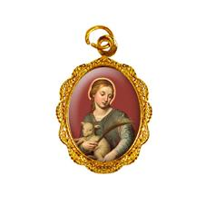 Medalha de Alum�nio Santa In�s