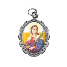 Medalha de Alumínio - Santa Luzia