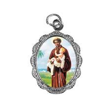 Medalha de alumínio - São Benedito - Mod. 1