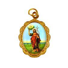Medalha de alumínio - São João Batista