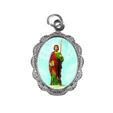 Medalha de alumínio - São Judas Tadeu - Mod. 2