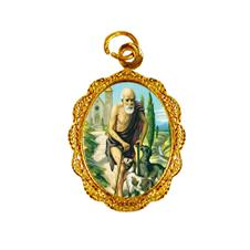 Medalha de alumínio - São Lázaro