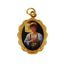 Medalha de Alumínio - São Tarcísio Dourado