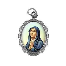 Medalha de alumínio - Nossa Senhora das Dores - Mod. 2