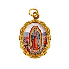 Medalha de Alumínio - Nossa Senhora da Guadalupe Dourado