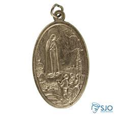 Medalha Oval Grande de Nossa Senhora de F�tima
