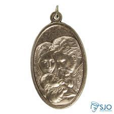 Medalha Oval Grande Sagrada Família