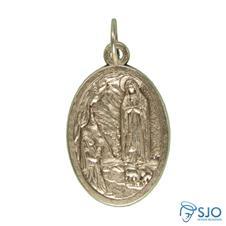 Medalha Oval Nossa Senhora de Lourdes