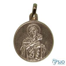 Medalha Redonda Mãe Rainha 3.2 cm