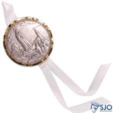 Medalhão de Berço N.S. de Fátima