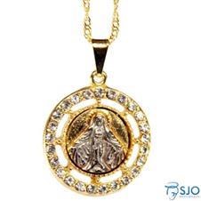 Medalha Folheada Nossa Senhora das Gra�as - 30 cm