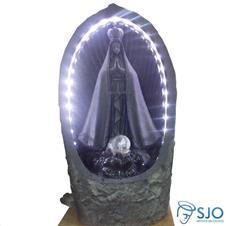 Fonte de Resina de Nossa Senhora Aparecida - 55 cm Escura