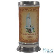 Porta Vela Jateado - Nossa Senhora de Fátima