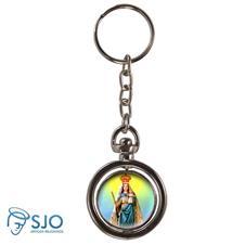 Chaveiro Redondo Girat�rio - Nossa Senhora da Penha
