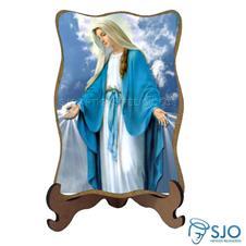 Porta Retrato Nossa Senhora das Gra�as - Modelo 3