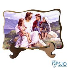 Porta Retrato Rosto de Jesus - Modelo 1