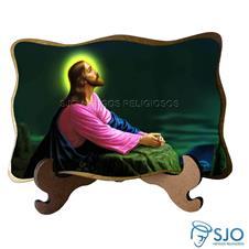 Porta Retrato Jesus Orando - Modelo 2