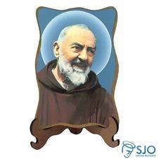 Porta Retrato Padre Pio - Modelo 1