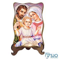 Porta Retrato Sagrada Fam�lia - Modelo 6