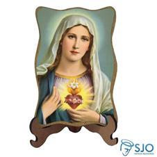 Porta Retrato Sagrado Coração de Maria - Modelo 2