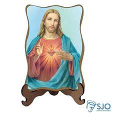 Porta Retrato Sagrado Coração de Jesus - Modelo 3