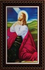 Quadro Religioso Jesus Orando
