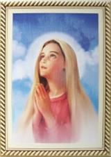 Quadro Religioso Face de Maria