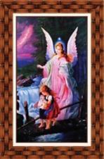 Quadro Religioso Santo Anjo