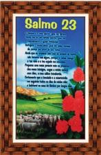 Quadro Religioso Texto Bíblico - Mod. 1