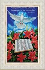 Quadro Religioso Texto B�blico - Mod. 3