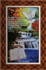 Quadro Religioso Texto Bíblico - Mod. 5