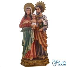 Imagem de resina Sagrada Fam�lia - 22 cm