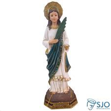 Imagem de resina Santa Luzia - 15 cm