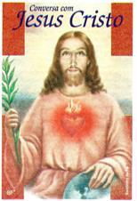 Santinhos de ora��o conversando com Jesus