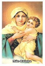 Santinhos de Oração Mãe Rainha