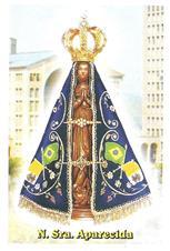 Santinhos de Ora��o Nossa Senhora Aparecida - Mod. 2