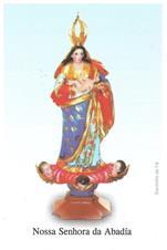 Santinhos de Oração Nossa Senhora da Abadía