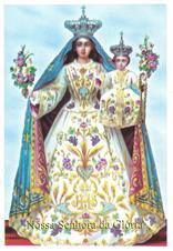 Santinhos de Oração Nossa Senhora da Glória