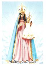 Santinhos de Oração Nossa Senhora da Penha
