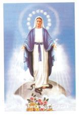Santinhos de Oração Nossa Senhora das Graças - Mod. 2