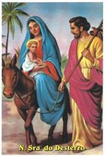 Santinhos de Ora��o Nossa Senhora do Desterro