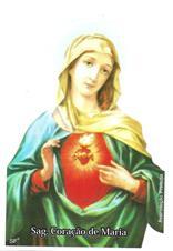 Santinhos de Oração Sagrado Coração de Maria