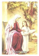 Santinhos de Oração de Santa Ana