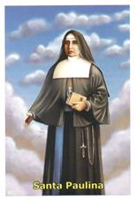 Santinhos de Ora��o Madre Paulina