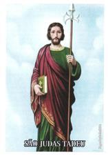 Santinhos de Ora��o S�o Judas Tadeu