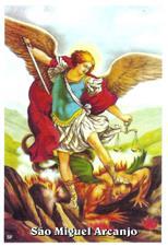 Santinhos de Oração São Miguel Arcanjo