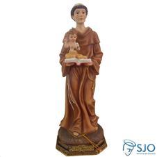 Imagem de resina Santo Antonio - 30 cm